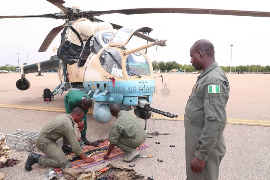 NAF LAUNCHES RENEWED OFFENSIVE AGAINST ARMED BANDITS IN SOKOTO AS CAS ASSURES OF SUSTAINED EFFORTS TO RESTORE PEACE TO TROUBLED AREAS IN THE NORTH WEST