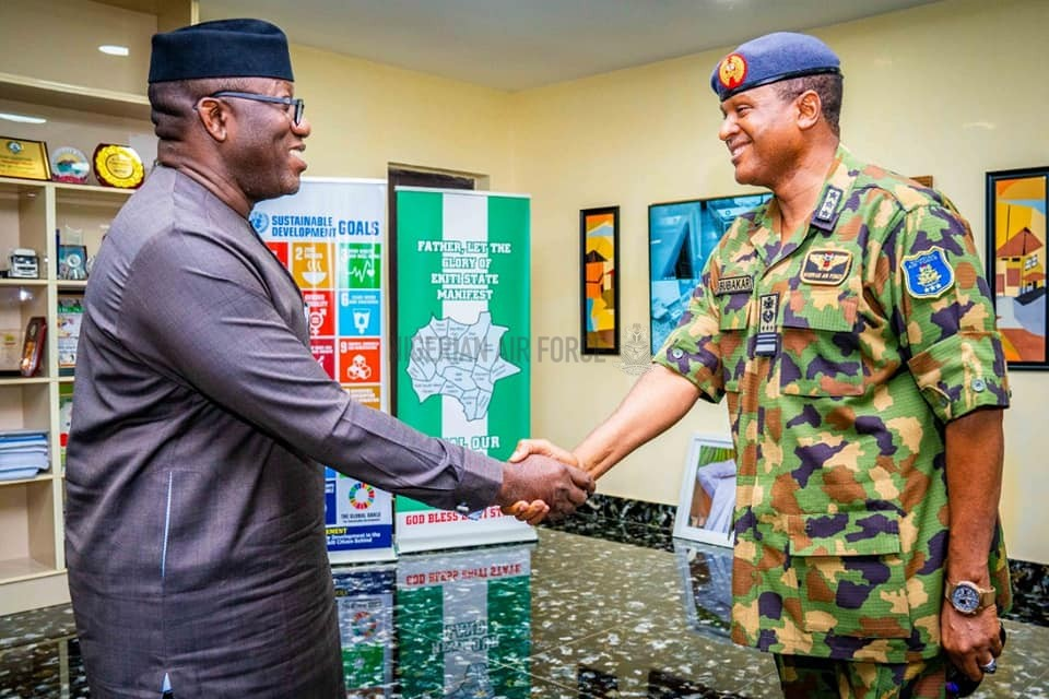 CAS ASSURES OF NAF'S COMMITMENT TO SECURITY OF NIGERIA, NIGERIANS