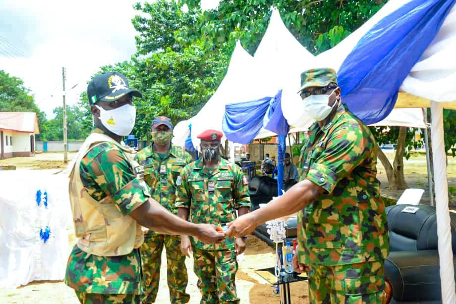 NAF REITERATES COMMITMENT TO INTERNAL SECURITY AS CAS COMMISSIONS NEW ACCOMMODATION FOR TROOPS IN AGATU