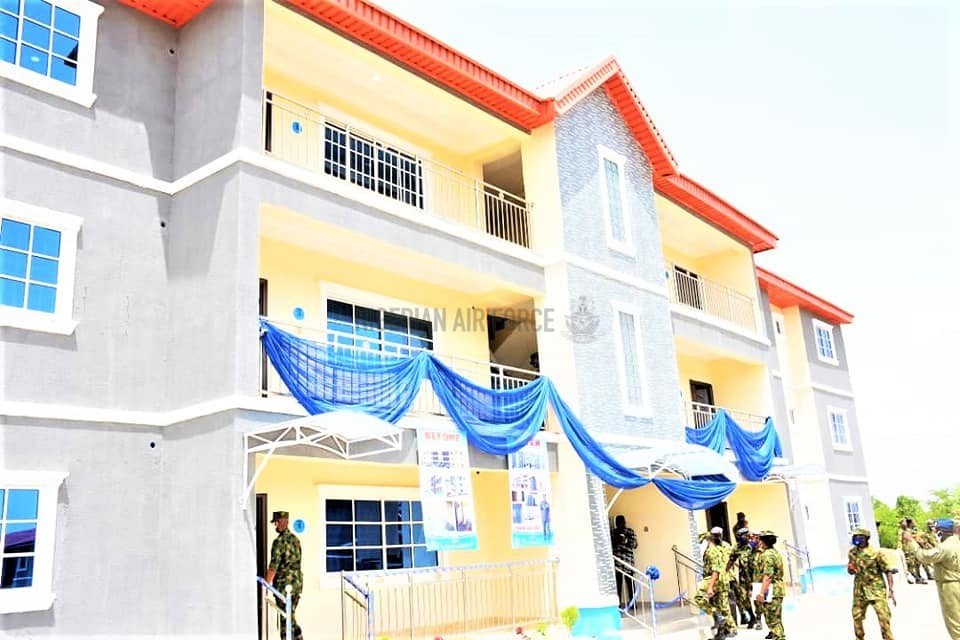 PERSONNEL WELFARE: NAF COMMISSIONS PROJECTS IN KADUNA, NAMES NEW GIRLS' HOSTEL AFTER RETIRED EDUCATION OFFICER