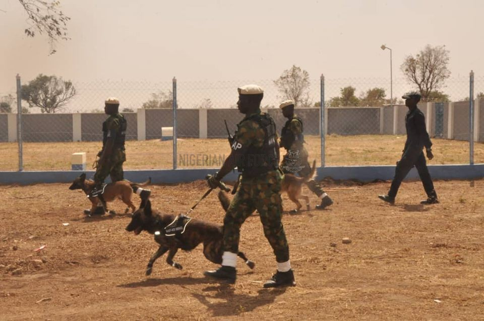 FIGHT AGAINST TERRORISM: NAF COMMISSIONS K-9 WING IN BAUCHI