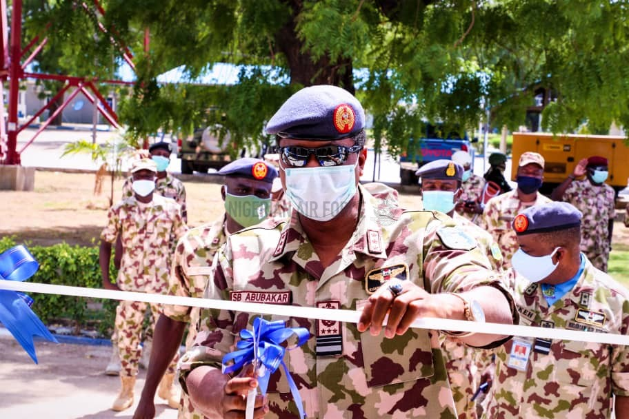 MONTHS AS CAS COMMENDS FRONTLINE TROOPS, COMMISSIONS OPERATIONS CENTRE, OTHER PROJECTS IN MAIDUGURI