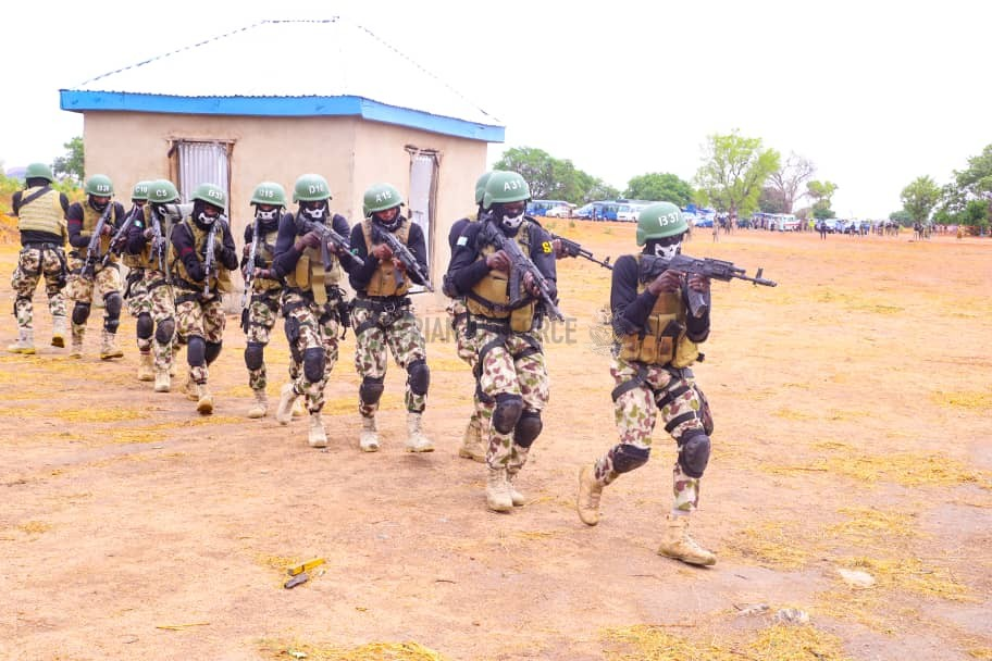 NAF GRADUATES NEW BATCH OF SPECIAL FORCES, CSAR OPERATIVES AS CAS INSPECTS ISOLATION WARD, COMMISSIONS TRAINING POOL FOR REGIMENT PERSONNEL IN BAUCHI