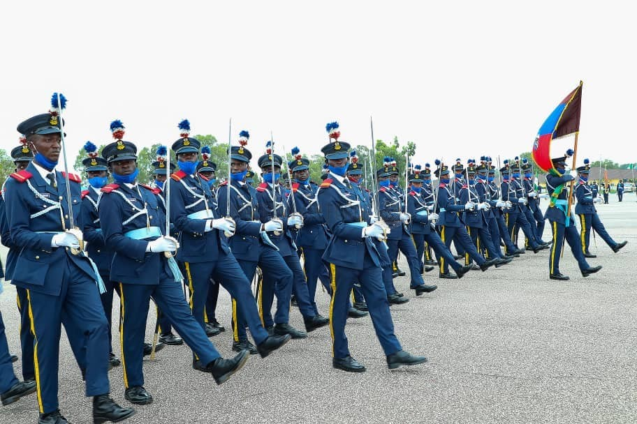 INTERNAL SECURITY: PRESIDENT BUHARI CHARGES NEWLY COMMISSIONED NAF DIRECT SHORT SERVICE OFFICERS TO DEFEND NATION'S TERRITORIAL INTEGRITY, NATONAL INTERESTS