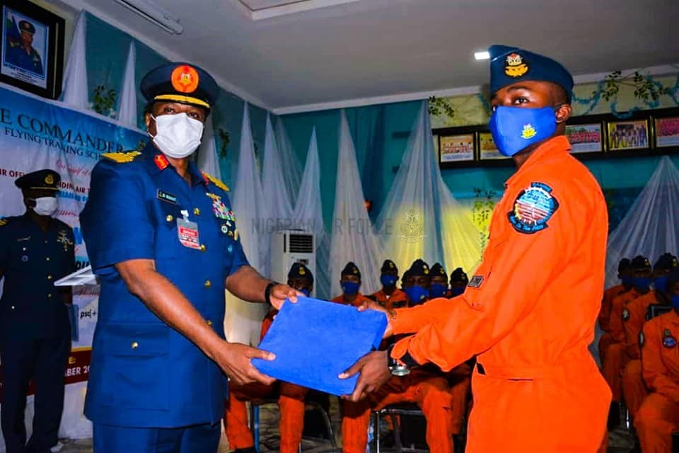 CAPACITY BUILDING: NAF GRADUATES ANOTHER SET OF STUDENT PILOTS FROM 401 FTS, TRAINS 145 IN 5 YEARS