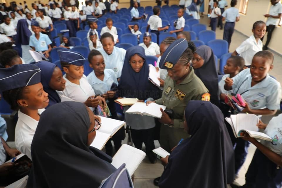 IWD 2020: NAF FEMALE PERSONNEL INSPIRE STUDENTS OF ITS GIRLS' SCHOOLS TO BREAK BARRIERS, STRIVE FOR GREATNESS