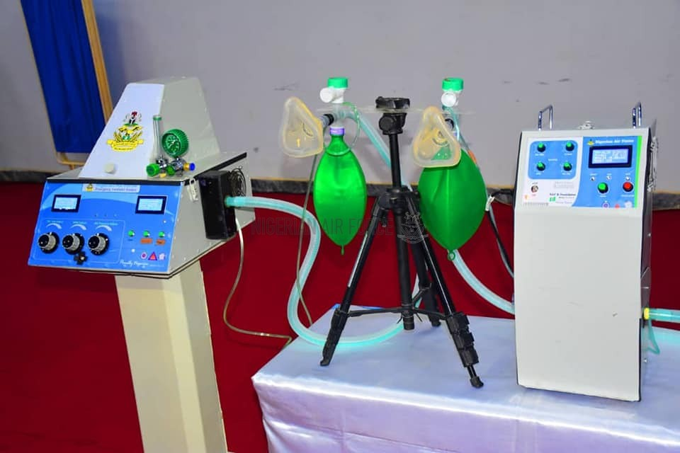 COVID-19: NAF UNVEILS LOCALLY-PRODUCED EMERGENCY VENTILATORS, APPEALS FOR PRIVATE SECTOR INVESTMENT FOR MASS PRODUCTION