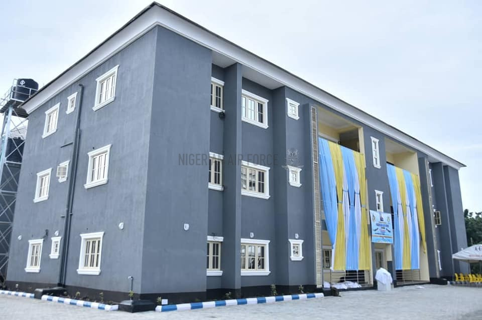 PERSONNEL WELFARE RECEIVES BOOST AS NAF COMMISSIONS TWO ADDITIONAL BLOCKS OF RESIDENTIAL ACCOMMODATION FOR OFFICERS IN LAGOS