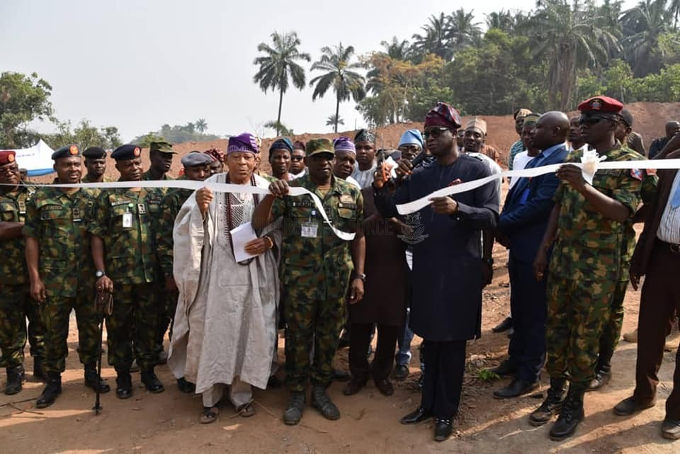 CAPACITY BUILDING: NAF COMMISSIONS ANOTHER COMMANDO VILLAGE, INAUGURATES COMBAT SEARCH AND RESCUE COURSE 2/2020 AT IPETU-IJESHA IN OSUN STATE
