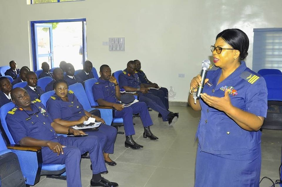 CAPACITY BUILDING: NAF HOLDS ORIENTATION TRAINING FOR RECENTLY GRADUATED MEDICAL TRADESMEN OF BMTC 40/2019