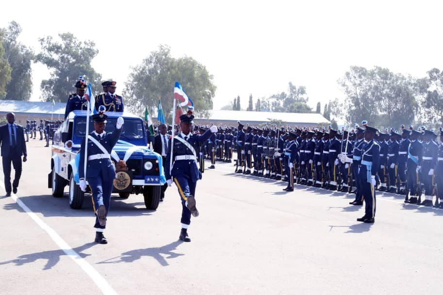 NAF GRADUATES NEW BATCH OF 2,079 RECRUITS TO BOOST INTERNAL SECURITY OPERATIONS AS CAS CHARGES THEM TO PROTECT ALL NIGERIANS, IMMORTALIZES 3 OF NAF'S FALLEN HEROES IN KADUNA
