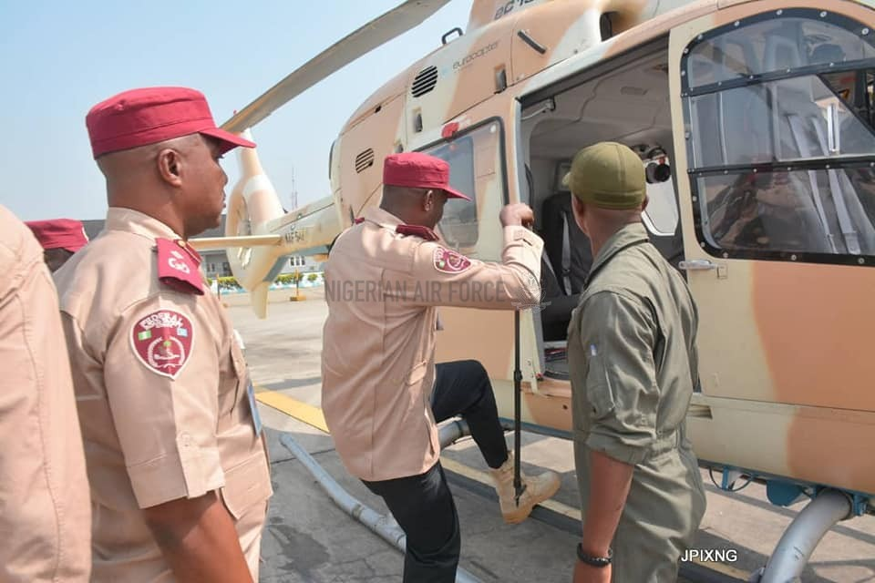 NAF COLLABORATES WITH FRSC TO ENSURE SAFETY OF COMMUTERS DURING THE YULETIDE