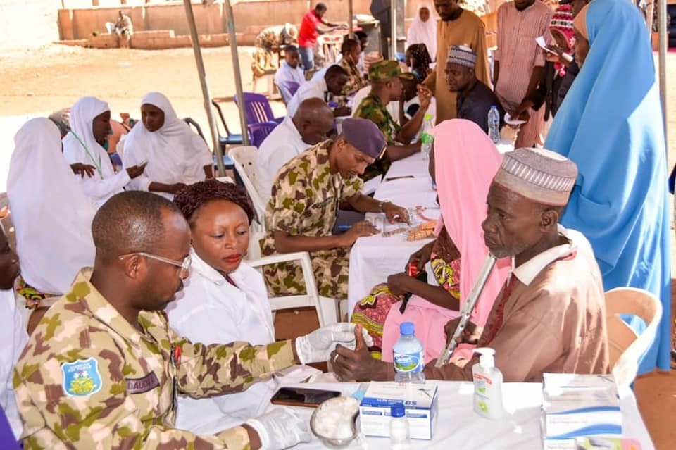 NAF TAKES MEDICAL OUTREACH TO MABERA COMMUNITY IN SOKOTO STATE, TARGETS OVER 3,000 BENEFICIARIES