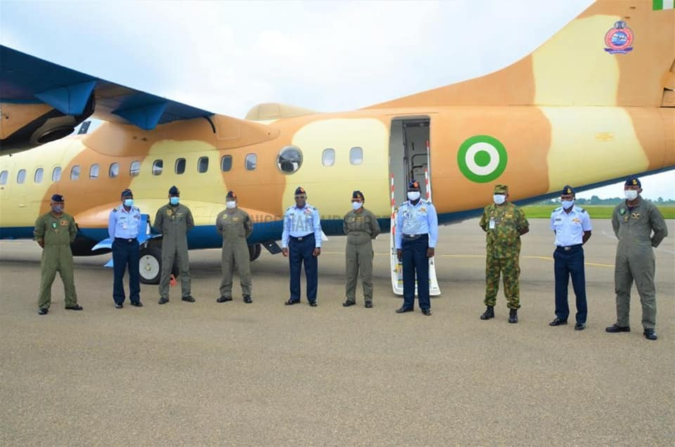 FIGHT AGAINST INSURGENCY: OPERATIONAL CAPABILITY RECEIVES BOOST AS NAF TAKES DELIVERY OF NEWLY REACTIVATED ATR-42 AIRCRAFT FOR ISR
