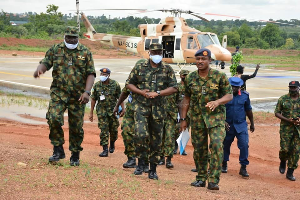 ANTI-BANDITRY OPERATIONS: NAF COMMISSIONS NEW HELIPAD AT KATARI VILLAGE TO ENHANCE AIR POWER EMPLOYMENT IN KADUNA STATE, ENVIRONS