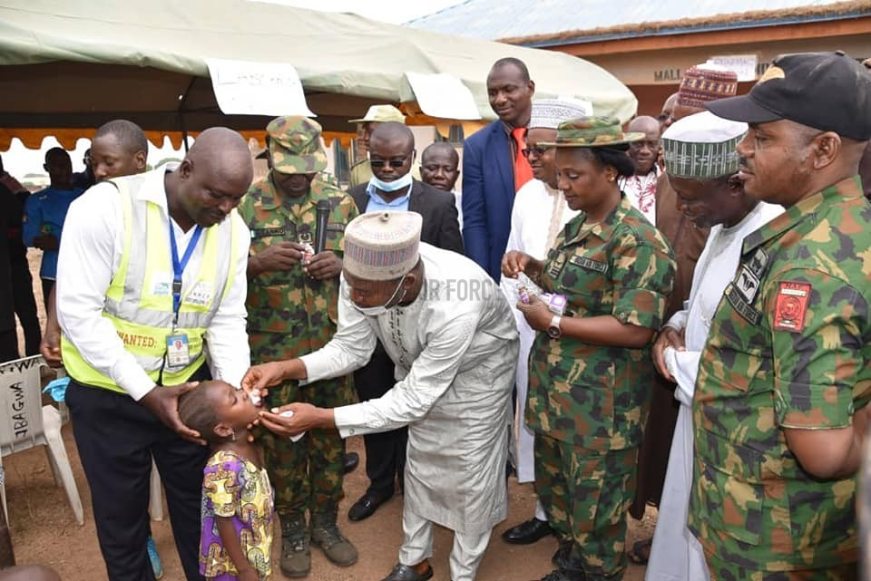 NAF FLAGS-OFF 3-DAY SPECIAL MEDICAL OUTREACH TO KUTA COMMUNITY IN SHIRORO LGA, NIGER STATE