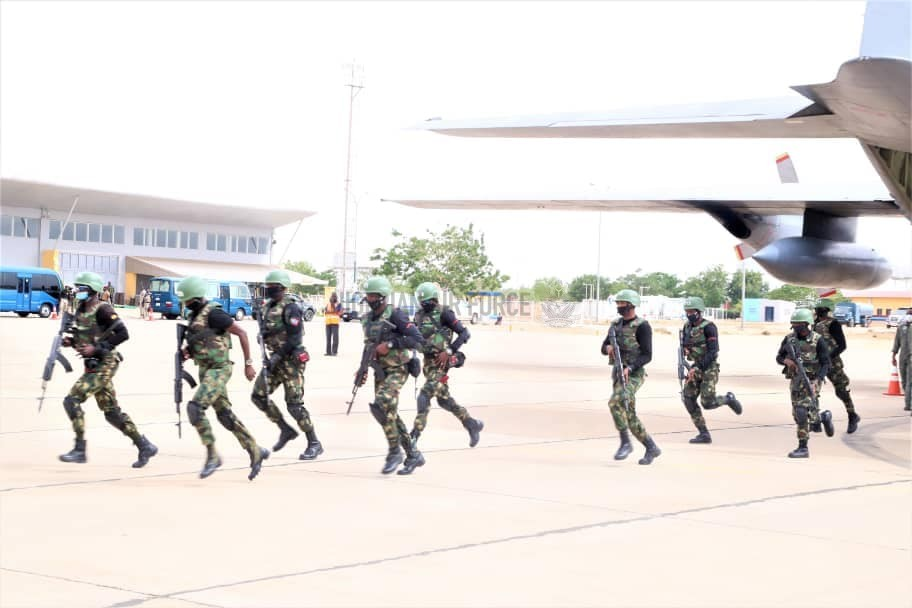NAF DEPLOYS SPECIAL FORCES ELEMENTS, ADDITIONAL PLATFORMS TO BOOST ONGOING OPERATIONS IN KATSINA