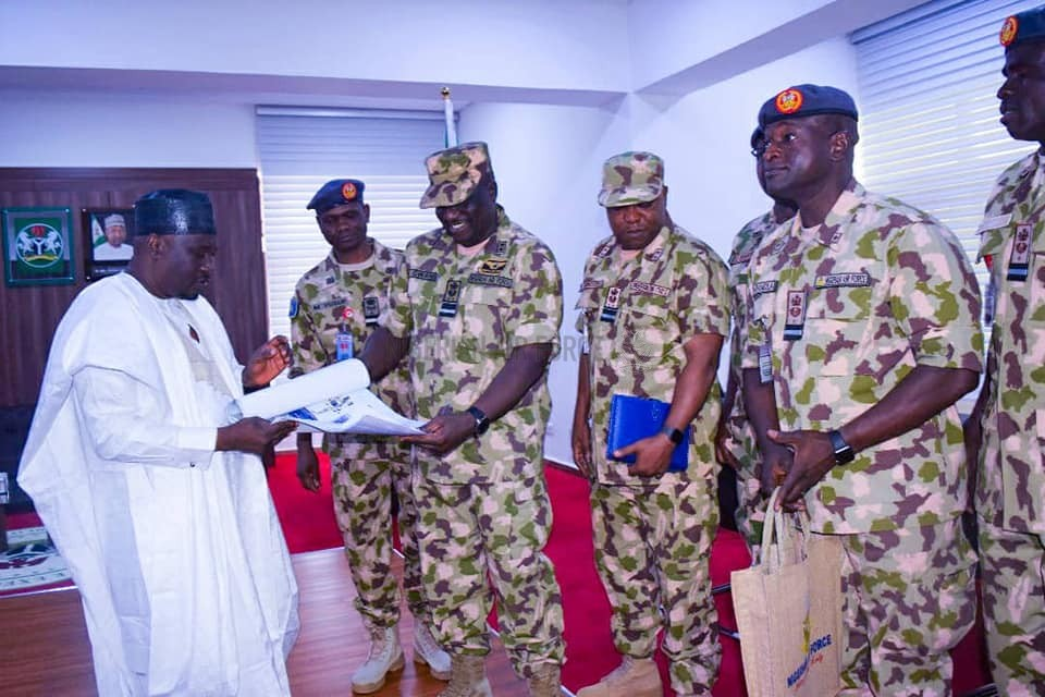 FIGHT AGAINST INSURGENCY: CAS ASSURES GOVERNOR FINTIRI OF NAF's COMMITMENT TO SECURITY IN ADAMAWA