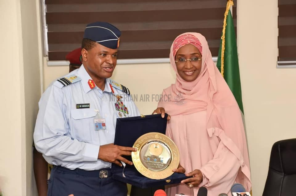 MINISTER COMMENDS NAF ON FIGHT AGAINST INSURGENCY, HUMANITARIAN INTERVENTIONS, SET TO STRENGTHEN TIES ON YOUTH EMPOWERMENT