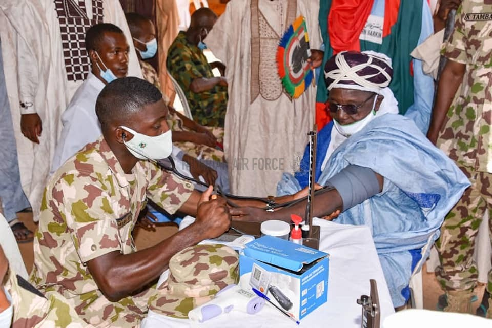 NAF FLAGS-OFF 3-DAY MEDICAL OUTREACH FOR VICTIMS OF ARMED BANDITRY ATTACK IN SOKOTO STATE