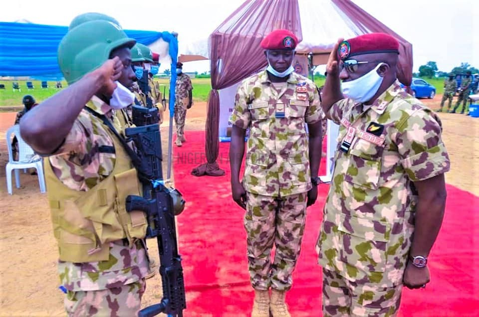 CAPACITY BUILDING: NAF GRADUATES ANOTHER SET OF RAPPELLERS, TRAINS MORE SPECIAL FORCES PERSONNEL