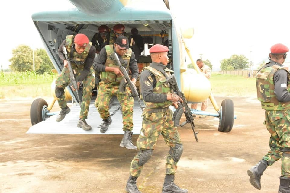 INTERNAL SECURITY: NAF DEPLOYS SPECIAL FORCES TO BOOST SECURITY IN SOUTHERN KADUNA