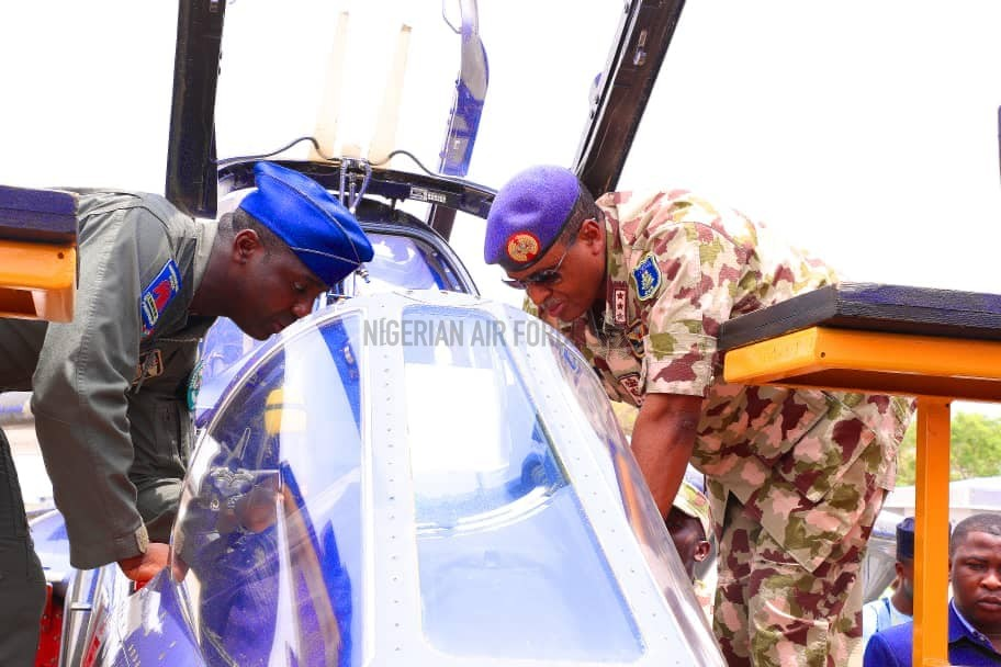 FIGHT AGAINST INSURGENCY: NAF COMPLETES IN-COUNTRY PDM, AVIONICS UPGRADE OF ALPHA JET AIRCRAFT AS CAS COMMISSIONS 2.8KM ROAD NETWORK IN KAINJI