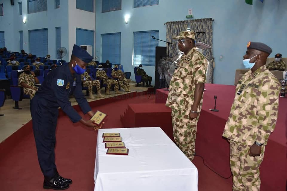 CAPACITY BUILDING: CAS CHARGES PERSONNEL TO BRING THEIR ACQUIRED SKILLS TO BEAR IN ENHANCING NAF OPERATIONS AS AFIT GRADUATES ANOTHER BATCH OF CIS TECHNICIANS