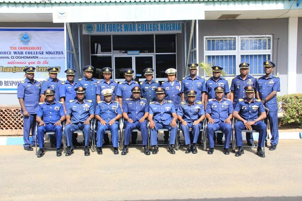 NAF INAUGURATES MAIDEN COMMAND RESPONSIBILITY COURSE AT AIR FORCE WAR COLLEGE MAKURDI