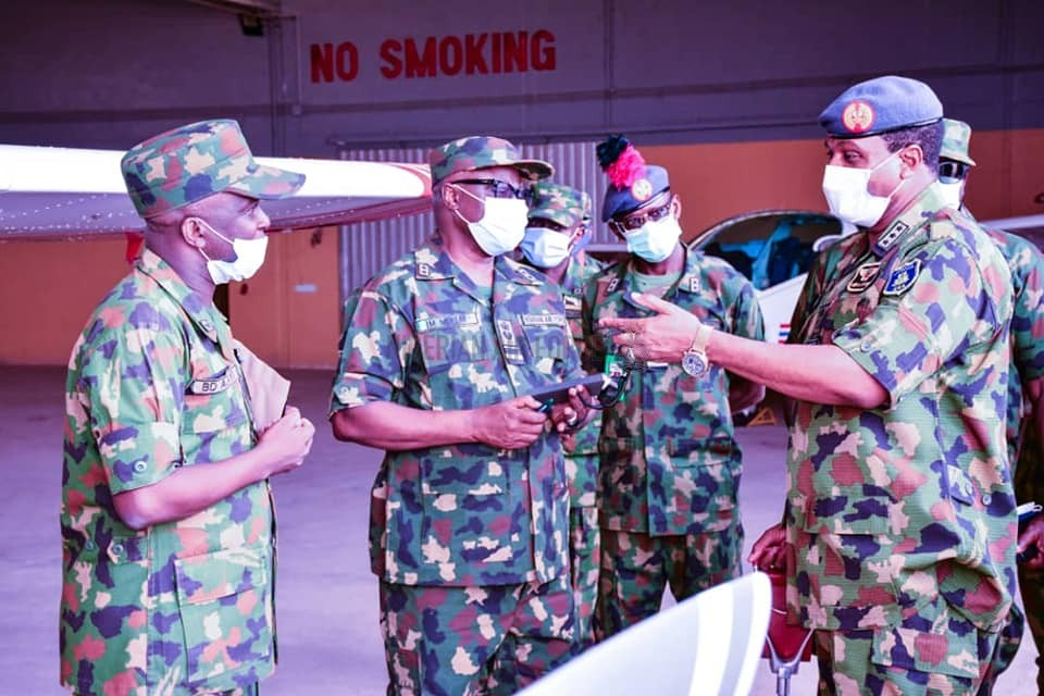 OPERATIONAL VISIT: CAS INSPECTS FACILITIES IN NAF UNITS IN KADUNA, ASSURES OF SUSTAINED AIR SUPPORT FOR ONGOING ANTI-BANDITRY OPERATIONS