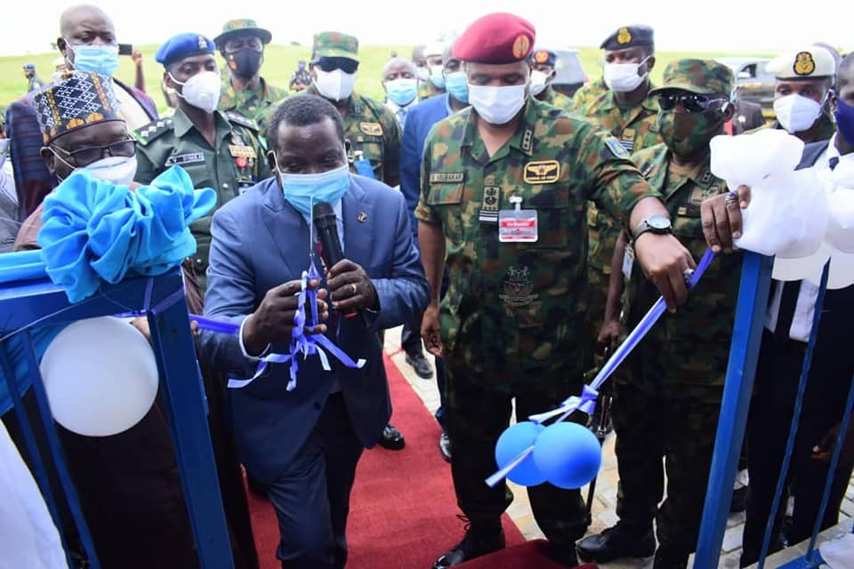 GOVERNOR LALONG LAUDS COMMITMENT OF THE CAS TO NATIONAL SECURITY, URGES NIGERIANS TO EMBRACE PEACE AS NAF COMMISSIONS INFRASTRUCTURE PROJECTS IN KERANG