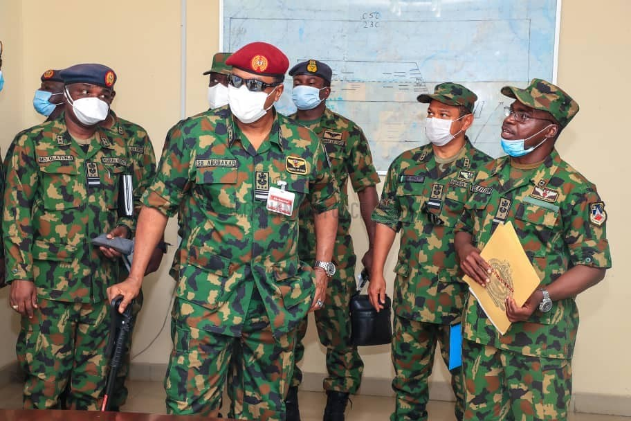 NATIONAL SECURITY: CAS INSPECTS FACILITIES AT 107 AIR MARITIME GROUP BENIN, COMMENDS PERSONNEL FOR COMMITMENT TOWARDS ENSURING A SECURED NIGERIA