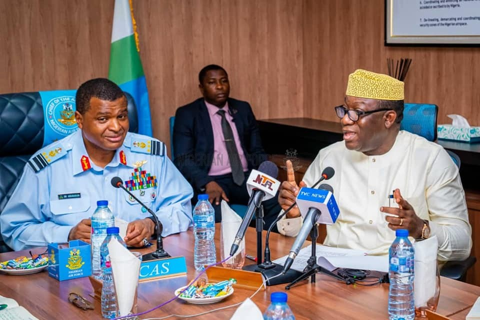 NAF TO PARTNER EKITI STATE ON PROPOSED INTERNATIONAL AGRO-ALLIED CARGO AIRPORT