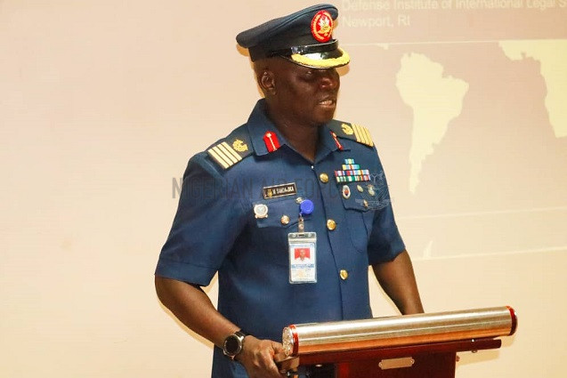 NAF COMMENCES 5-DAY WORKSHOP ON RESPECT FOR HUMAN RIGHTS, LEGAL ASPECTS OF AIR TARGETING